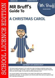 Mr Bruff's Guide to 'A Christmas Carol' - eBook - MrBruff.com
